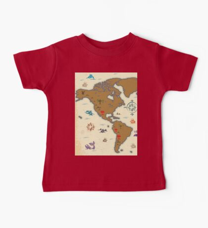 western map Baby Tee