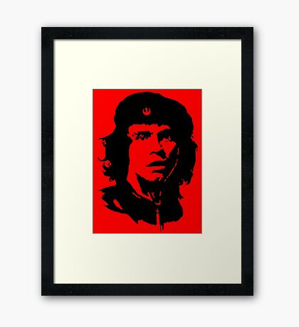 Che Skywalker Framed Print