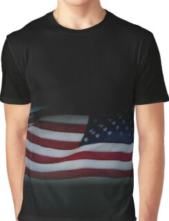 Flag Of The United States Of America | Fire Island, New York Graphic T-Shirt