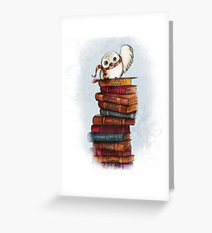 Hedwig Greeting Card