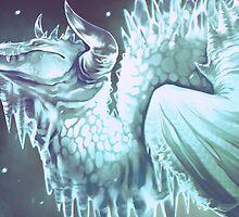 Ice Dragon by Sturmschwinge