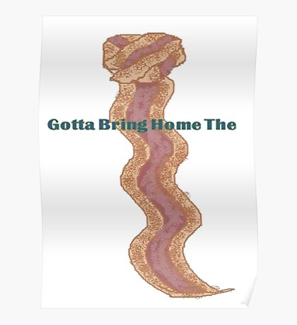 Bacon Tie  Poster