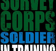 Survey Corps Soldier in Training by Penelope Barbalios