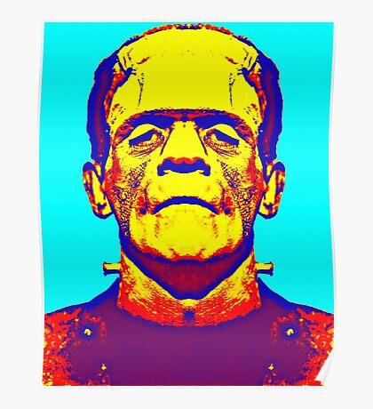 Boris Karloff, alias in The Bride of Frankenstein Poster