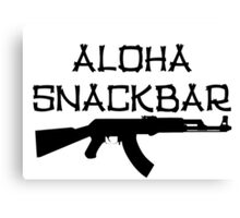 Aloha Snack Bar Canvas Print
