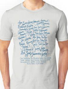 Sail2Indonesia Blue Ink Unisex T-Shirt