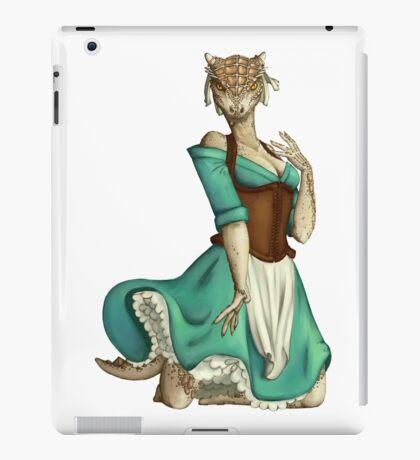 Lusty Argonian Maid Pinup 4 iPad Case/Skin