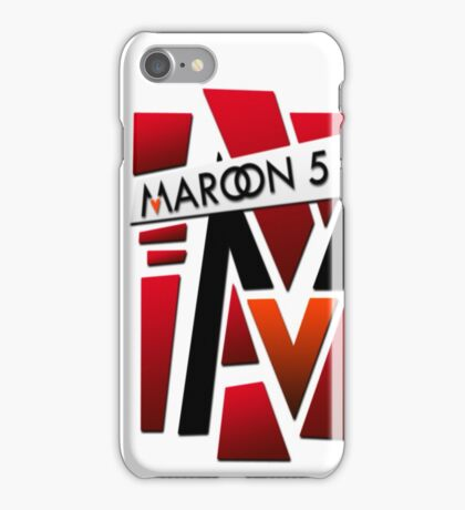 maroon five iPhone Case/Skin