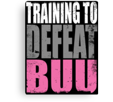 Training to DEFEAT BUU Canvas Print