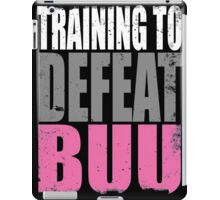 Training to DEFEAT BUU iPad Case/Skin