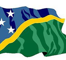 Solomon Islands Flag by kwg2200