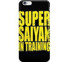 Super Saiyan in Training iPhone Case/Skin