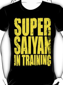 Super Saiyan in Training T-Shirt