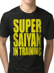 Super Saiyan in Training Tri-blend T-Shirt