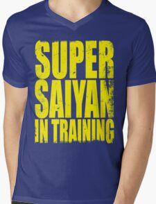 Super Saiyan in Training Mens V-Neck T-Shirt