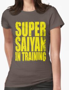 Super Saiyan in Training Womens Fitted T-Shirt