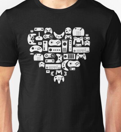 Controller Heart Unisex T-Shirt