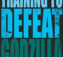 Training to DEFEAT GODZILLA by Penelope Barbalios