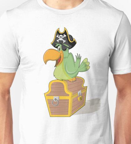 Bird Pirate Unisex T-Shirt