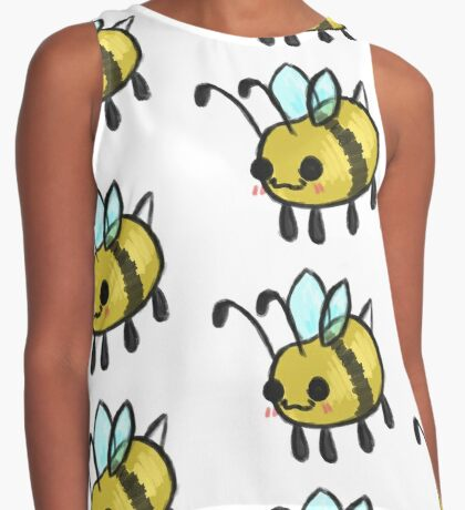 Bumble Beans Contrast Tank
