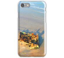 Shipwreck on the Beach iPhone Case/Skin