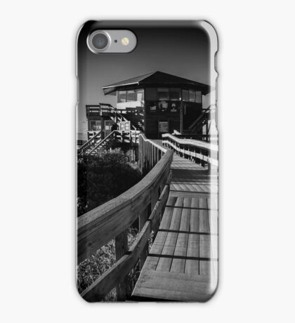 Wilderness Visitor Center | Fire Island, New York iPhone Case/Skin