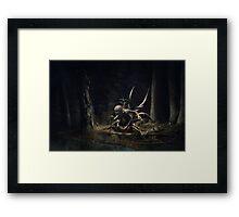 Forrest Creature Framed Print