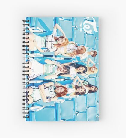 twice Cheers up Spiral Notebook
