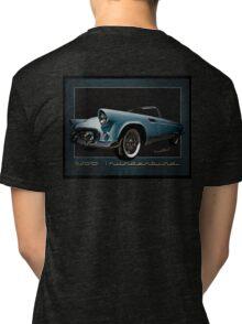1956 Thunderbird Tribute Poster T-Bird Tri-blend T-Shirt
