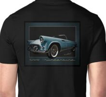 1956 Thunderbird Tribute Poster T-Bird Unisex T-Shirt