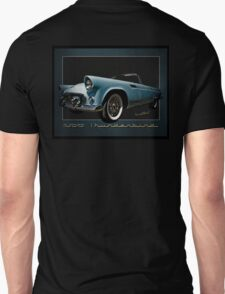 1956 Thunderbird Tribute Poster T-Bird Unisex T-Shirt