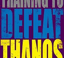 Training to DEFEAT THANOS by Penelope Barbalios