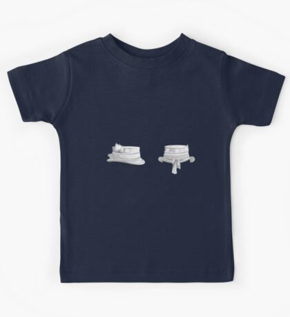 Glitch Hats top hat Kids Tee
