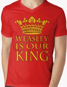 Weasley Is Our King (Gryffindor) Mens V-Neck T-Shirt