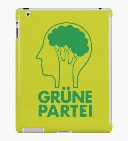 GRUNE PARTEI iPad Case/Skin