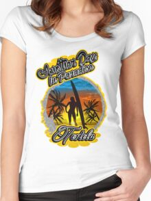 Tortola Women's Fitted Scoop T-Shirt