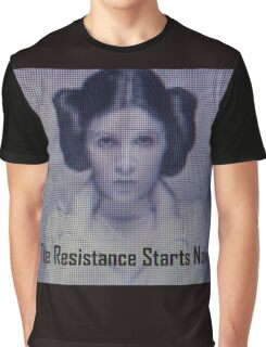 The Resistance starts now  Graphic T-Shirt