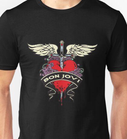 SWORD LOGO BON JOVI Unisex T-Shirt