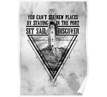 Set Sail and Discover Poster