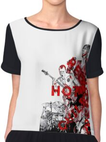 Red Hot Chili Peppers Chiffon Top