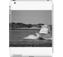 Boat Driving iPad Case/Skin