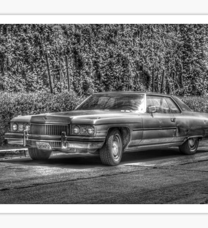 Mad Cap Cadillac B&W Sticker
