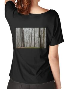 Fog beyond the grassy knoll Women's Relaxed Fit T-Shirt