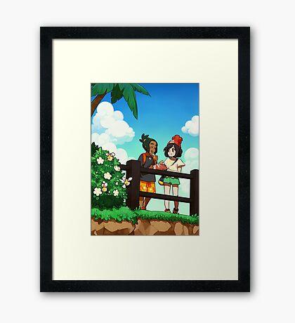 malasadas Framed Print