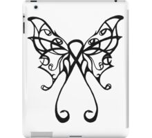 cancer butterfly iPad Case/Skin