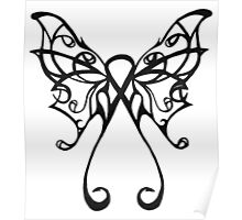 cancer butterfly Poster