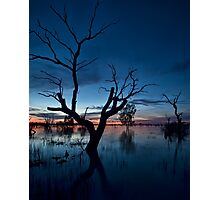 Sunset on the Lake - Menindee, NSW Photographic Print