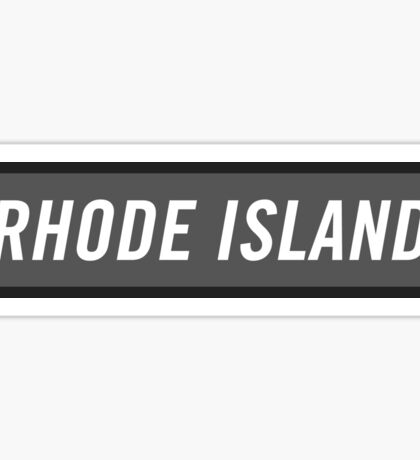 Rhode Island C Sticker