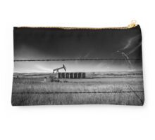 North Dakota Study in B & W VI Studio Pouch