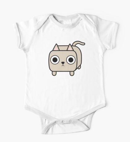 Cat Loaf - Cream Kitty One Piece - Short Sleeve